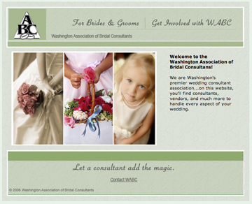 Non-profit membership organization website